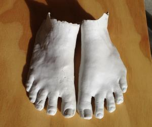 porcelain feet