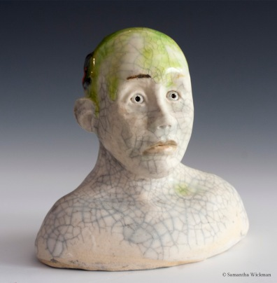 Character Study 2, Paperclay, 2015