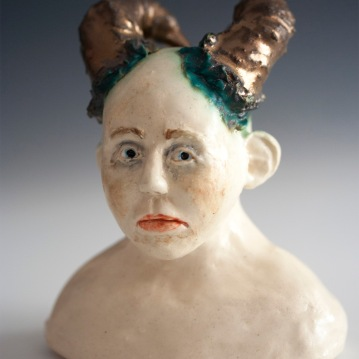 Character Study 3, Paperclay, 2015
