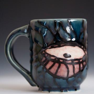 Jellyfish Mug, Porcelain, 2012