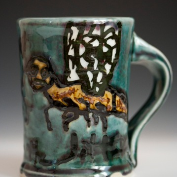 Jitterbug Mug, Porcelain, 2012